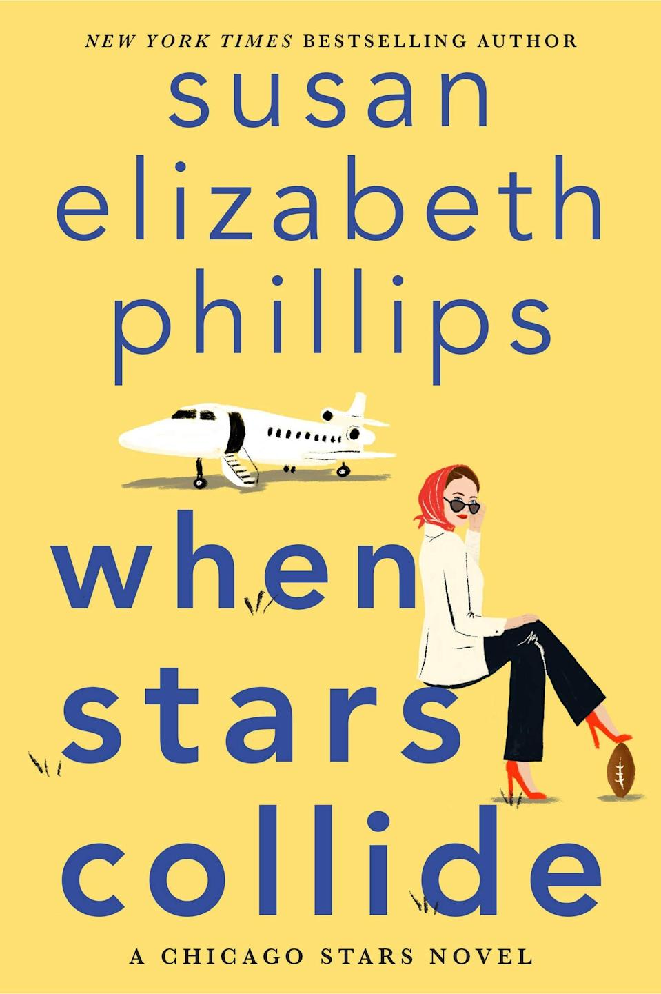 <p>An opera singer and a football player are forced to go on a promotional tour together in Susan Elizabeth Phillips's hilarious <span><strong>When Stars Collide</strong></span>. Thaddeus and Olivia are opposites in every way, and they're determined to make each other miserable on their trip. However, it doesn't take them long to realize that deep down they might just have something in common after all. </p> <p><em>Out June 29</em></p>