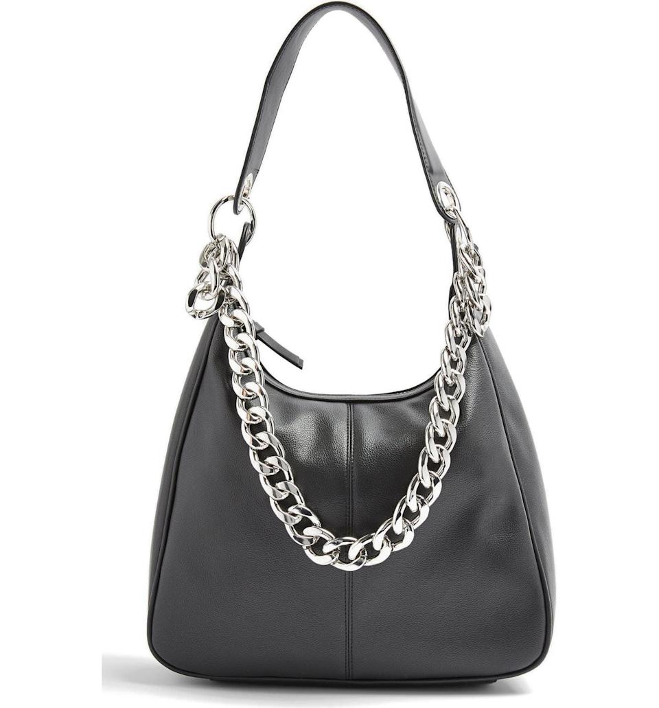 <p><span>Topshop Chunk Chain Hobo Bag</span> ($39, originally $58)</p>