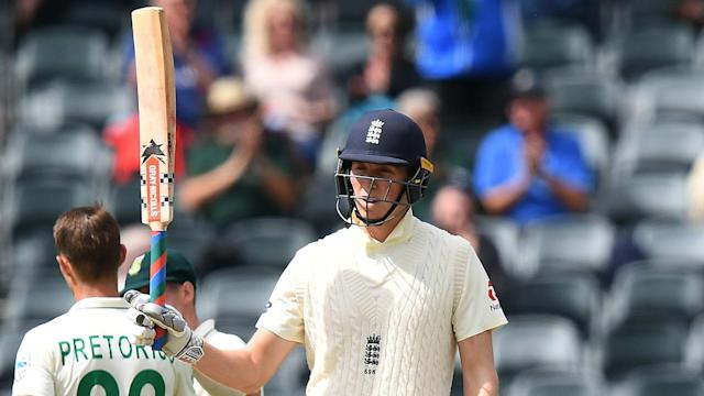 In search of a 3-1 series win, England surpassed 500,000 Test runs but South Africa fought back on day one of the fourth Test.