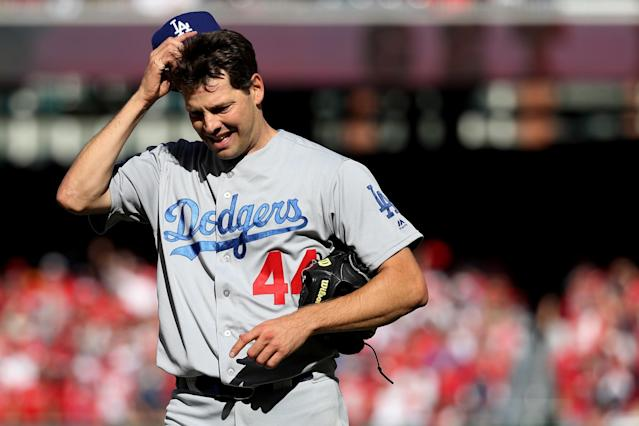 The Dodgers are open to suggestions about Rich Hill's blisters. (Getty Images)