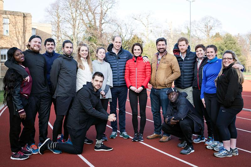 Epic challenge: Nick Knowles, the Royals, and the Mind over Marathon runners: BBC
