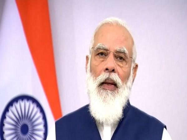 Prime Minister Narendra Modi while addressing the general debate of 75th United Nations General Assembly