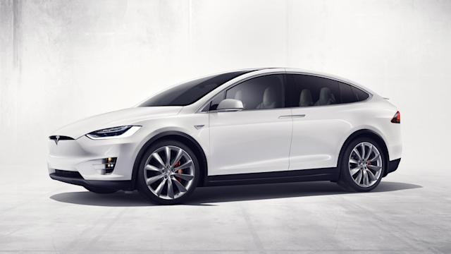 <p><b>Tesla Model X</b><br><strong>Price as tested:</strong> $110,700<br><strong>Highlights:</strong> Cabin feels airy and futuristic, quick and good handling.<br><strong>Lowlights:</strong> Second row doesn't fold down for increased storage on some models. Not as quiet or comfortable as Model S. Reliability issues with body hardware, paint and trim, and climate system.<br>(PA Motoring) </p>