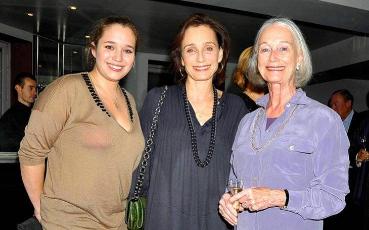 With daughter Hannah and mother Deborah in 2010 - WireImage