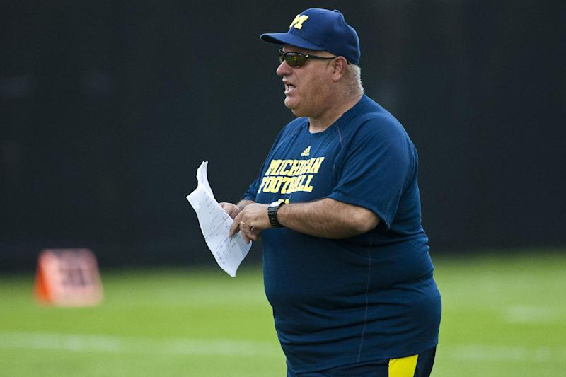 Michigan fires offensive coordinator Borges