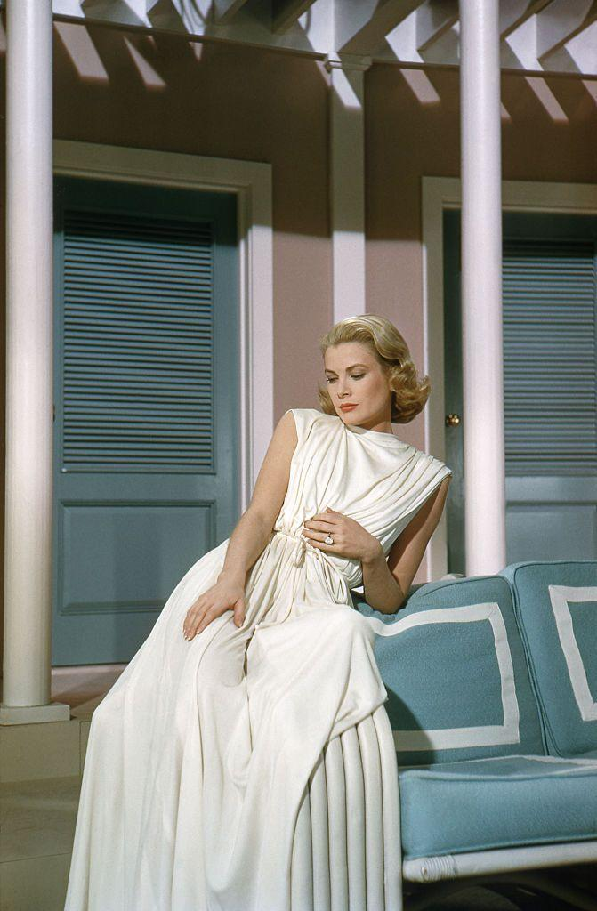 <p>Grace Kelly's diamond ring in <em>High Society </em>could be spotted from a mile away, but what makes the sparkler even more iconic is that it was the actress's real-life, Cartier 8-carat emerald cut diamond engagement ring. As the actress was already engaged during filming, <em>High Society</em> was Kelly's final film before her wedding to the Prince of Monaco. </p>