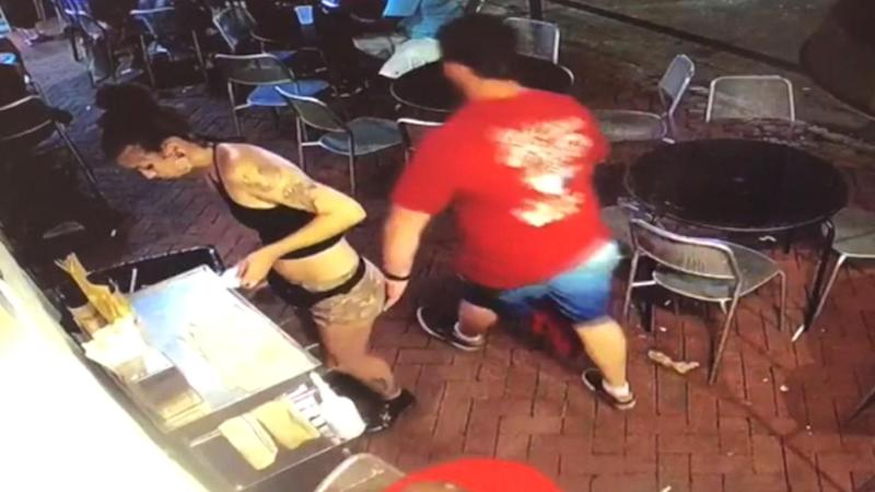 Waitress Who Gave Handsy Customer a Smackdown Lashes Out at Critics of Her Clothing