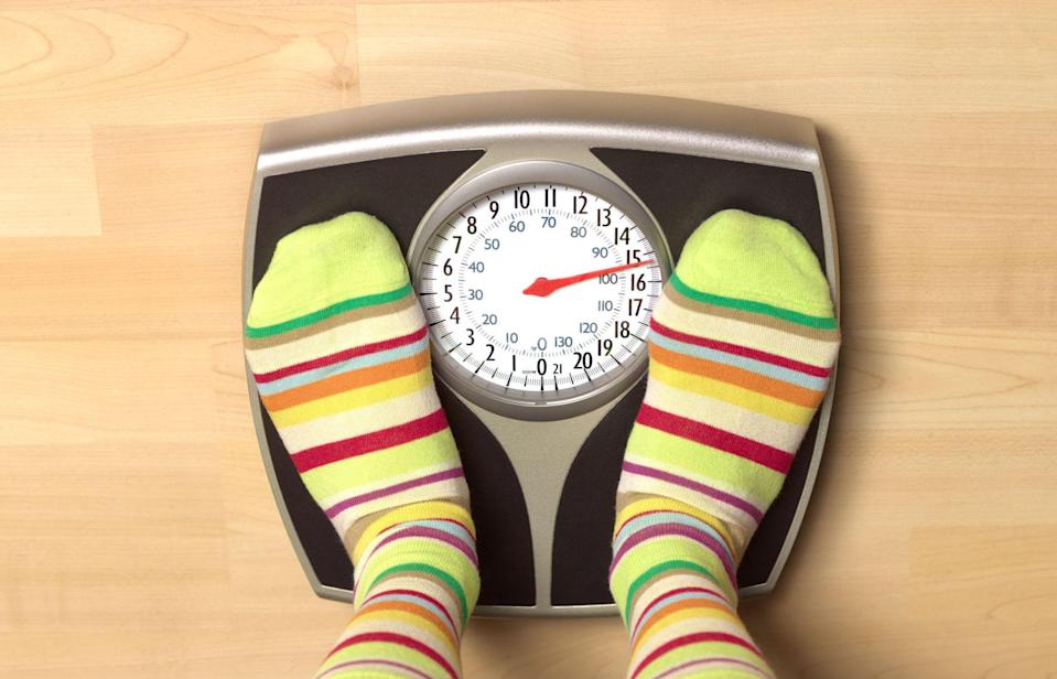 "<p>To keep your weight in check, step on the scale every morning—even during the holidays. A <a rel=""nofollow noopener"" href=""https://www.hindawi.com/journals/jobe/2015/763680/"" target=""_blank"" data-ylk=""slk:study"" class=""link rapid-noclick-resp"">study</a> published in the <i>Journal of Obesity</i> found that those who weighed themselves daily were more likely to lose weight and keep it off than those who stepped on the scale less often.</p>"