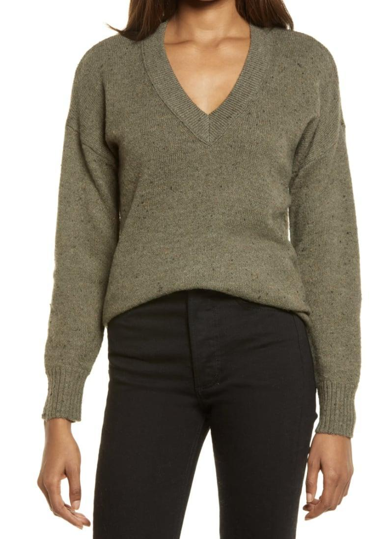 <p>This <span>Madewell Donegal Bartlett Pullover Sweater</span> ($31, originally $78) is a great layering piece.</p>