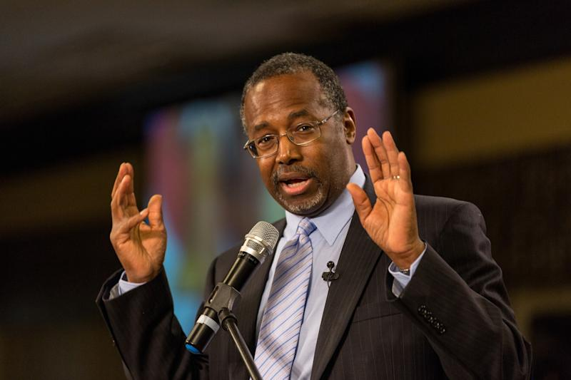 Dr Ben Carson is the head of the Department of Housing and Urban Development (HUD)