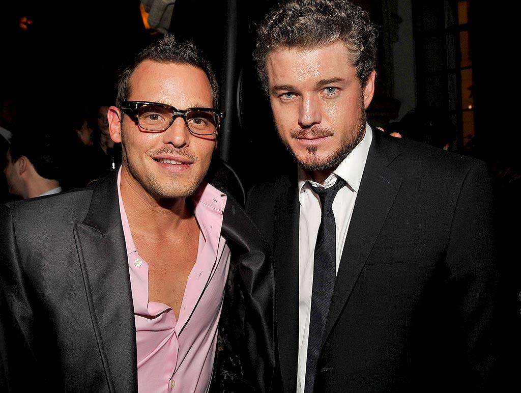"""Grey's Anatomy"" heartthrobs Justin Chambers and Eric Dane attend the 2007 GQ ""Men of the Year"" awards at the Chateau Marmont in Los Angeles. Lester Cohen/<a href=""http://www.wireimage.com"" target=""new"">WireImage.com</a> - December 5, 2007"