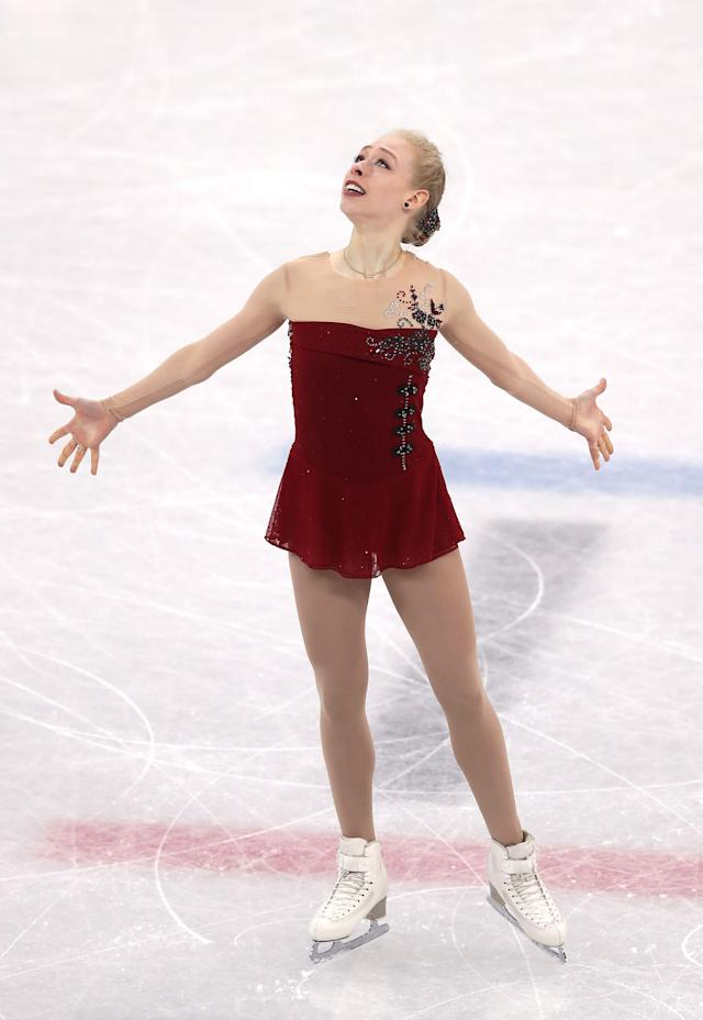 <p>Bradie Tennell is the 2018 US National Champion and a first time Olympian in South Korea. Tennell had a season best 68.94 in her debut earlier this week and ultimately finished with a bronze in the team event. </p>