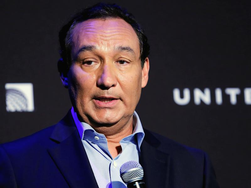 Chief executive officer of United Airlines Oscar Munoz: REUTERS