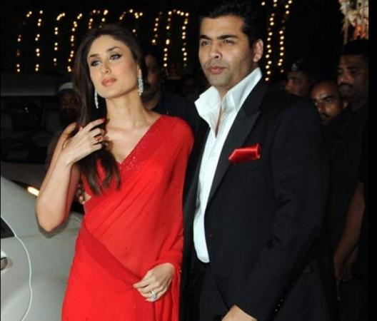 Kareena Kapoor Khan and Karan Johar