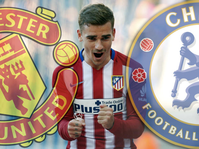 Chelsea are believed to be interested in signing Griezmann: AFP/Getty