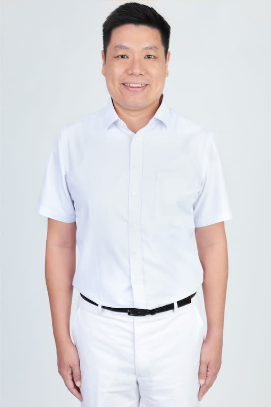 New PAP candidate Alex Yeo Sheng Chye, 41, is a lawyer and father of two. PHOTO: People's Action Party