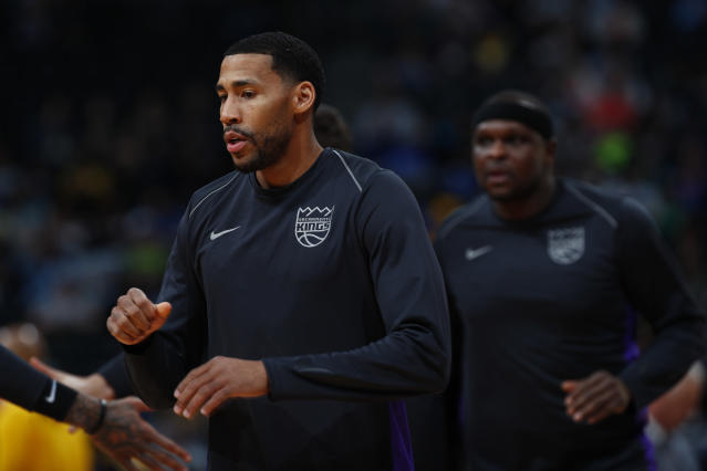 "<a class=""link rapid-noclick-resp"" href=""/nba/teams/sac"" data-ylk=""slk:Sacramento Kings"">Sacramento Kings</a> forward <a class=""link rapid-noclick-resp"" href=""/nba/players/4682/"" data-ylk=""slk:Garrett Temple"">Garrett Temple</a> was banned from using Uber. (AP Photo)"
