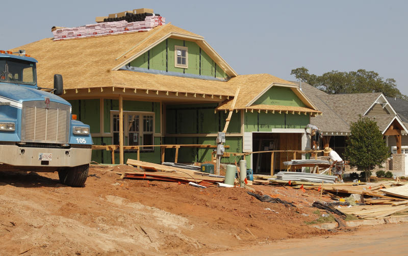 US new-home sales rise to highest in 2½ years