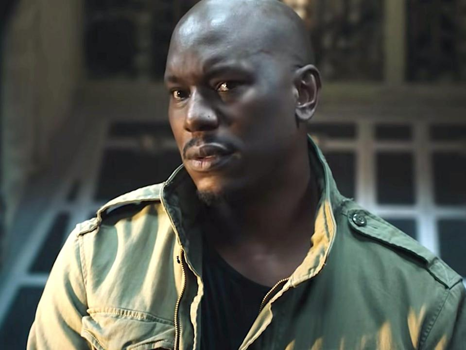 """Tyrese Gibson as Roman in """"Fast and Furious 9."""""""