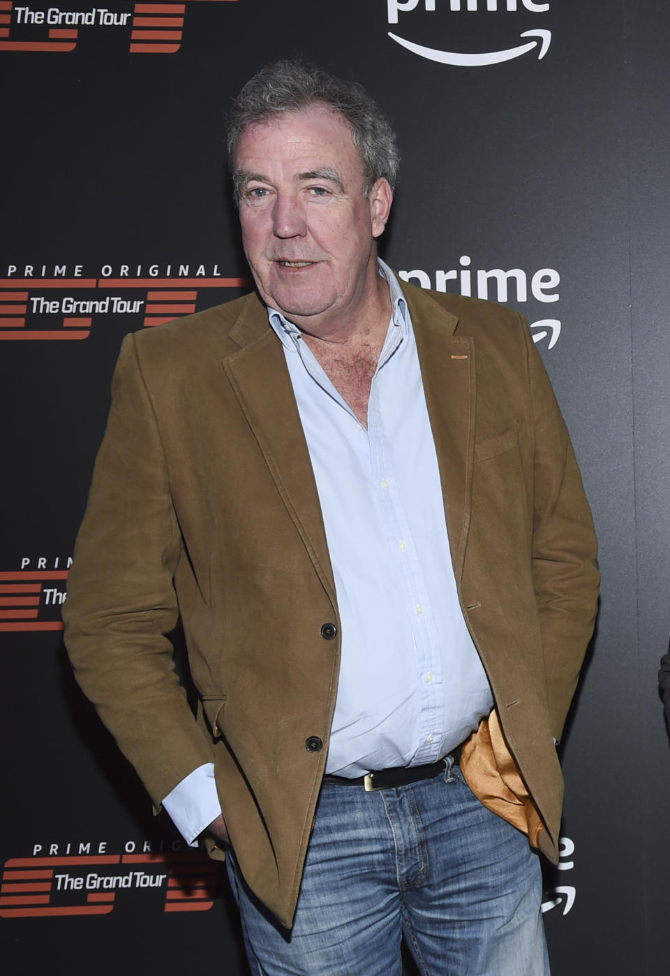 "Co-host Jeremy Clarkson attends Amazon Studio's ""The Grand Tour"" season two premiere screening and party at Duggal Greenhouse on Thursday, Dec. 7, 2017, in New York. (Photo by Evan Agostini/Invision/AP)"