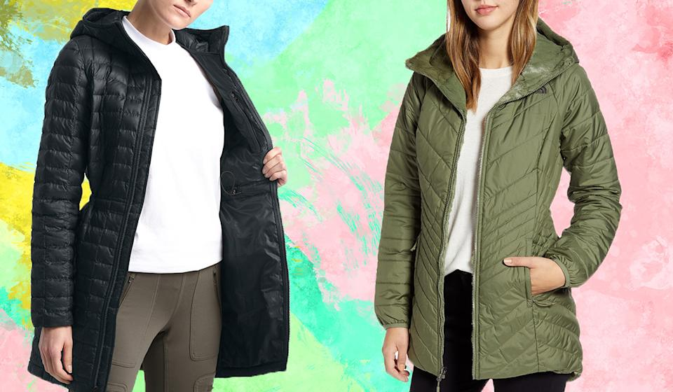 Bundle up with a new North Face coat. (Photo: Nordstrom)