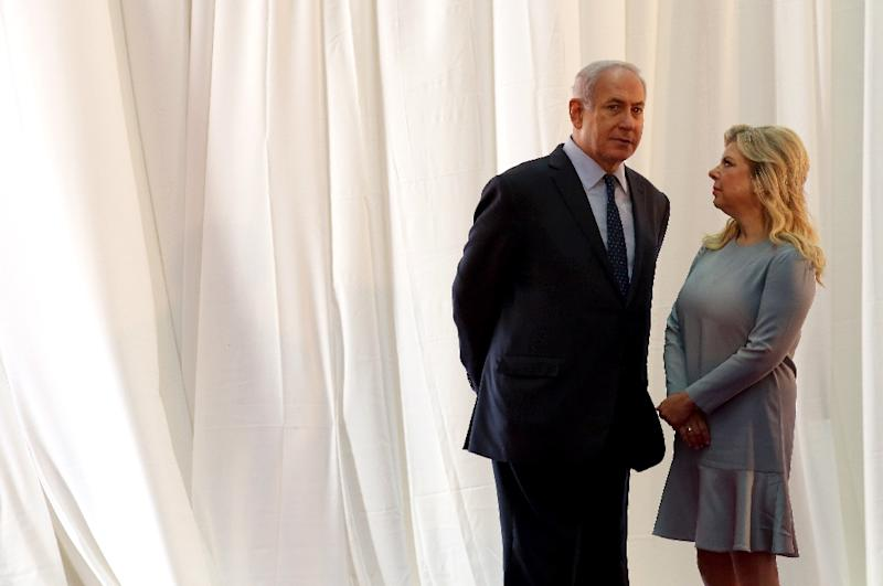 Israeli Prime Minister Benjamin Netanyahu and his wife Sara are shown in Jerusalem on June 6, 2017