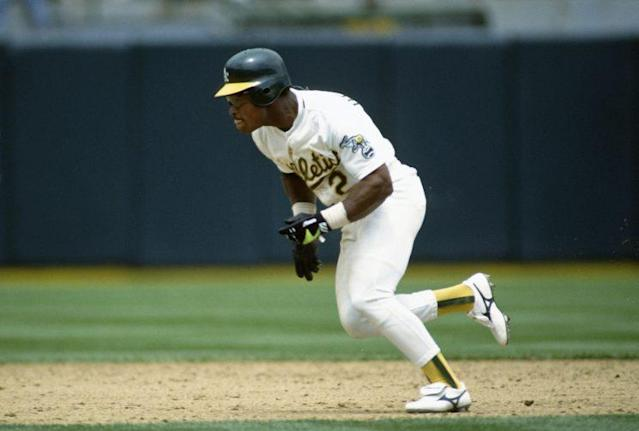 Rickey Henderson could steal bases like no other. (Getty)