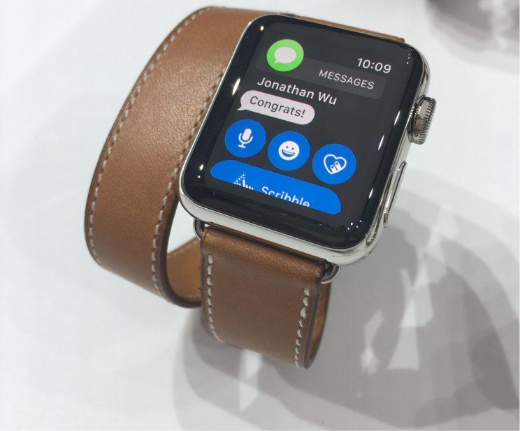 Apple Watch Series 2 styling