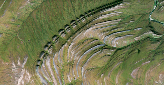 A Google Earth View of North Slope, USA (Google Earth)