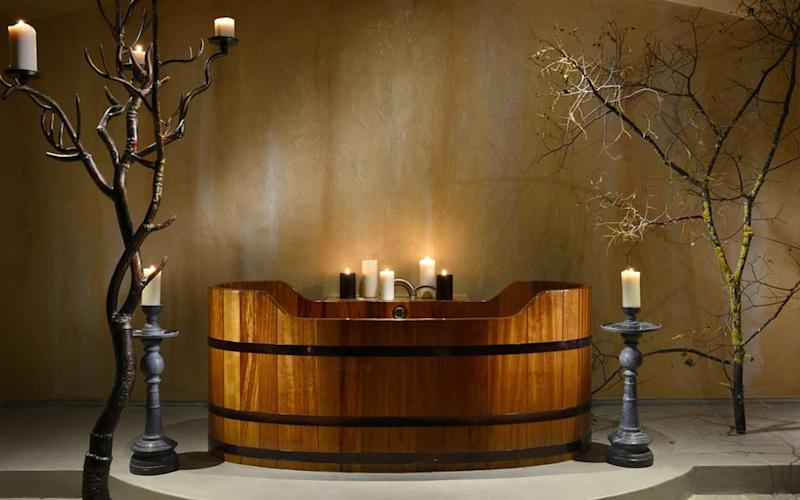 Bohemians and sybarites alike will delight in the spa at Ville Sull'Arno