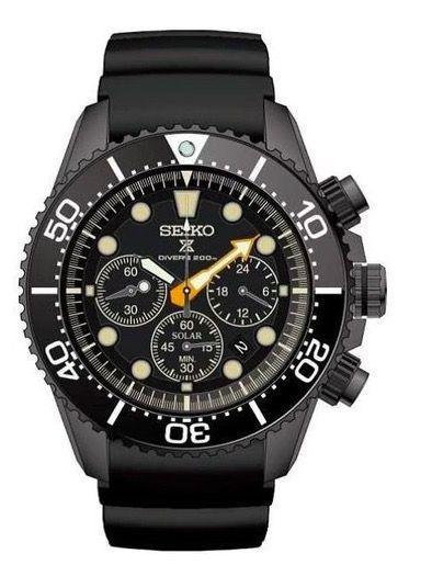 """<p>Seiko Prospex Black Series </p><p><a class=""""link rapid-noclick-resp"""" href=""""https://go.redirectingat.com?id=127X1599956&url=https%3A%2F%2Fwww.jurawatches.co.uk%2Fproducts%2Fseiko-watch-prospex-sea-black-series-ssc673p1&sref=https%3A%2F%2Fwww.esquire.com%2Fuk%2Fwatches%2Fg25973970%2Fbest-mens-watches%2F"""" rel=""""nofollow noopener"""" target=""""_blank"""" data-ylk=""""slk:SHOP"""">SHOP</a></p><p>Inspired by the world of night diving, which may be a first, Seiko's new series of dive watches are distinguished by their none-more-black DLC-coated stainless steel cases. There are three models available: the SLA035J1 Professional, with water resistance to 1,000 feet (limited to 600 models), the SPB125J1 """"Sumo"""", a 45mm version (7,000 models) and the solar-powered SSC761J1, shown here (limited to 3,500 pieces). </p><p>£620; <a href=""""https://www.seikoboutique.co.uk/"""" rel=""""nofollow noopener"""" target=""""_blank"""" data-ylk=""""slk:seikoboutique.co.uk"""" class=""""link rapid-noclick-resp"""">seikoboutique.co.uk</a></p>"""