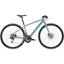 """<p><a class=""""link rapid-noclick-resp"""" href=""""https://www.canyon.com/en-gb/hybrid-city/citybikes/roadlite/roadlite-wmn-al-7.0/2346.html?dwvar_2346_pv_rahmenfarbe=GY%2FBU"""" rel=""""nofollow noopener"""" target=""""_blank"""" data-ylk=""""slk:SHOP NOW"""">SHOP NOW</a></p><p><strong>Price: </strong>£999 </p><p>A little on the pricier side it may be, but this Canyon bike punches above its price tag. A sleek, lightweight aluminium frame and smooth components means this hybrid bike, which is specifically engineered for female riders, feels speedy and responsive. </p><p><strong>Number of gears: </strong>2x11 speed with a premium Shimano 105 R7000 GS</p><p><strong>Frame:</strong> Sleek, lightweight aluminium frame </p>"""