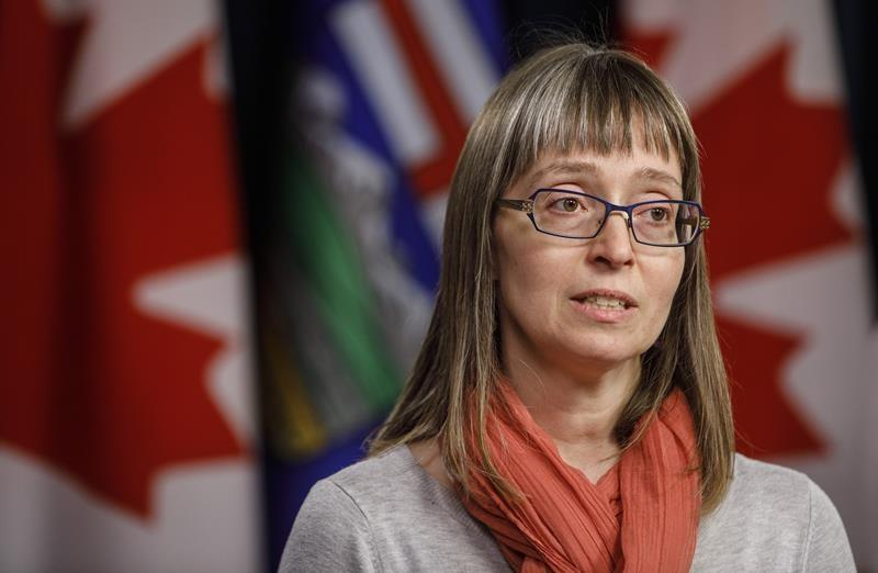 Alberta's top health official says province is not in a second wave of COVID-19