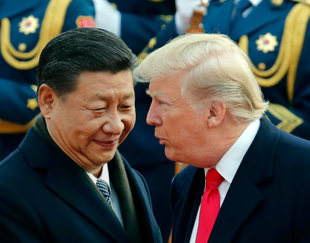 Another round of trade talks between the U.S. and China will resume this weekend. (AP Photo/Andy Wong)