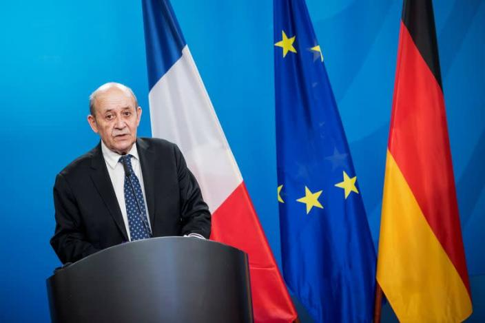 Europe must act as Lebanon collapses, France says