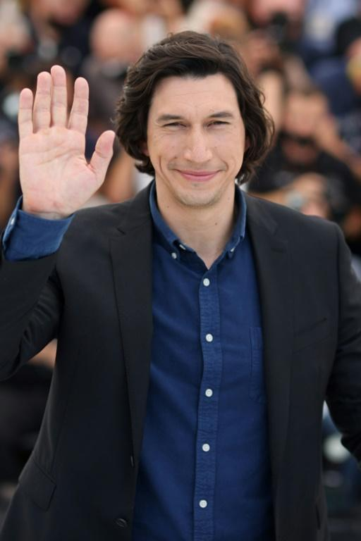 Disappearing star: Adam Driver plans to slip away during the screening of the opening film