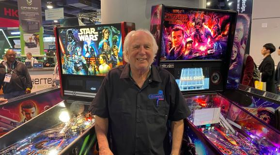 Gary Stern is CEO of Stern Pinball.