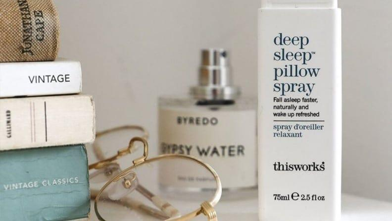 Doze off to a pleasantly scented pillow.