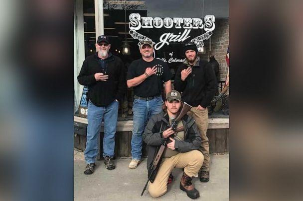 PHOTO: The Daily Beast reported that U.S. Capitol riot suspect Robert Gieswein posted this photo on his Facebook page showing him in front of Rep. Lauren Boebert's Rifle, Colo., restaurant. Boebert said she does not know Gieswein. (Robert Gieswein/Facebook)