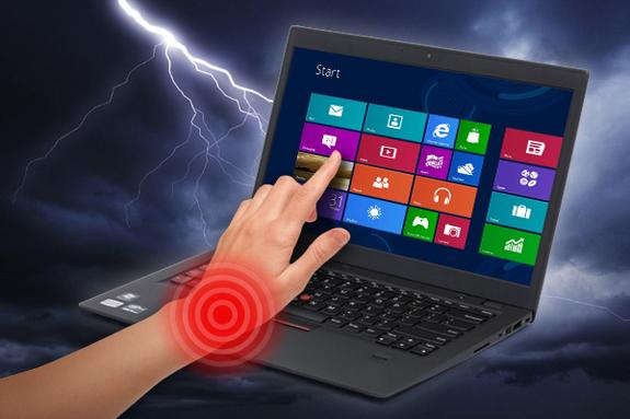 Are Windows 8 Touch Laptops Bad For Your Health?