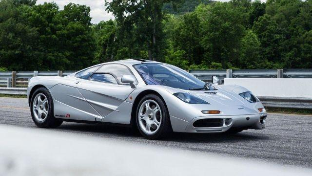 This McLaren F1 is going up for sale at Bonhams Quail Lodge event