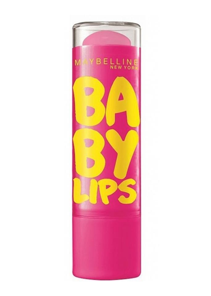 "Maybelline Baby Lips Moisturizing Lip Balm in Pink Punch, $4.49; at <a rel=""nofollow"" href=""https://www.maybelline.com/lip-makeup/lip-balm/baby-lips-moisturizing-lip-balm/pink-punch"" rel="""">Maybelline</a>"