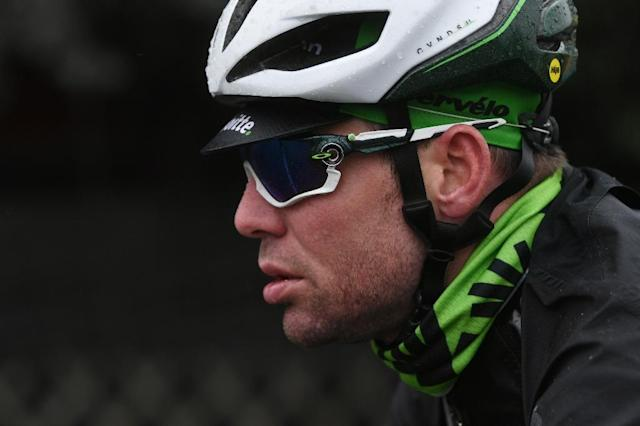 Britain's Mark Cavendish is set to make his return to racing at the Tour de Yorkshire (AFP Photo/Marco BERTORELLO)