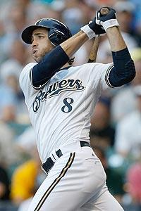 Ryan Braun won the MVP award after leading the Brewers to the NL Central title in 2011