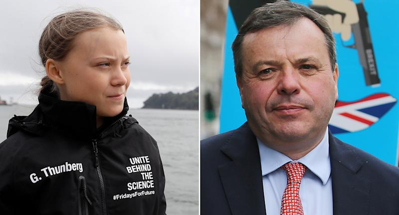 Eco-activist Greta Thunberg sets sail for NY