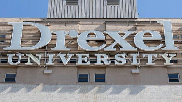 PHOTO: A sign for Drexel University in Philadelphia, May 5, 2019. (Matt Rourke/AP, FILE)