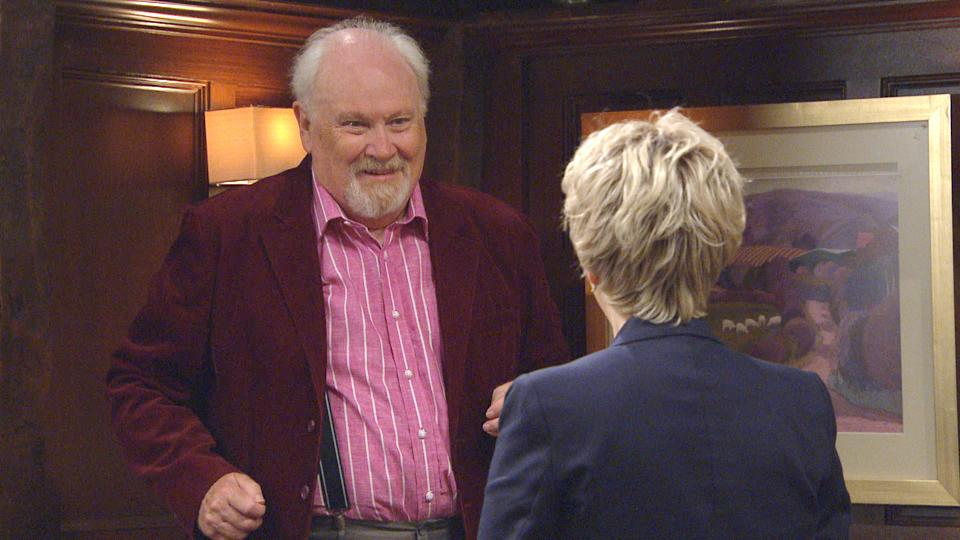 Colin Baker was recently cast as Diane Sugden's date. (ITV)