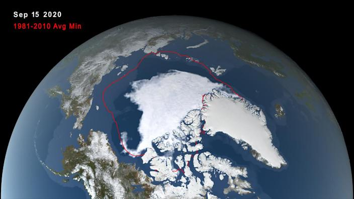 Arctic Sea Ice melts away to 2nd lowest minimum on record