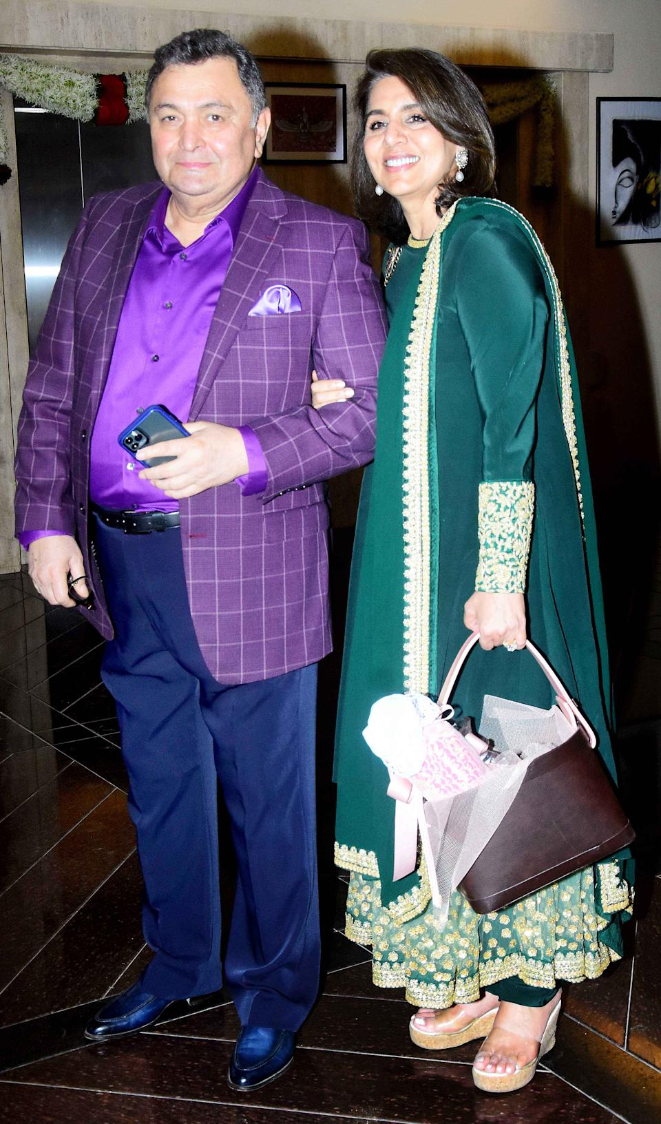 Rishi and Neetu Kapoor were also part of the event.