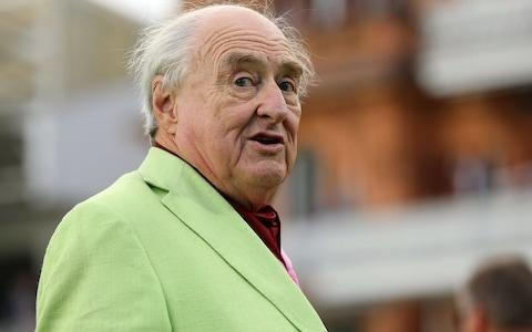 Henry Blofeld at Lord's last September - Credit:  Mark Kerton/ Action Plus via Getty Images